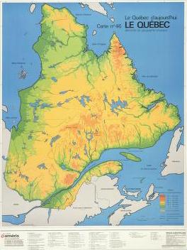 DIGITAL HANDBOOK Map Literacy Interactive - Quebec map