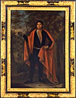 Portrait of Tee Yee Neen Ho Ga Row (baptized Hendrick), Emperor of the Six Nations, 1710